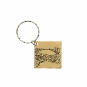 Wexford Bronze Square Key Ring
