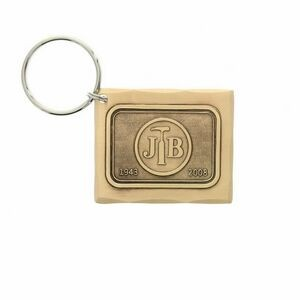 Wexford Bronze Rectangle Key Ring