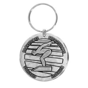 Wexford Stainless Steel Round Key Ring