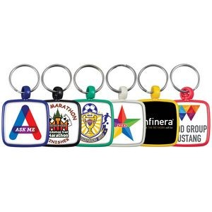 Square Color Keytag