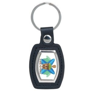 Suburban Domed Key Tag