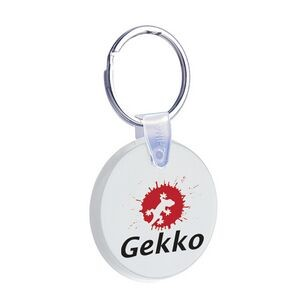 Soft Squeezable Key Tag (Small Round)