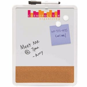Magnetic Dry Erase & Cork Board