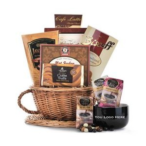 Coffee Cup Gift Basket
