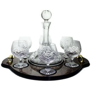 Trafalgar Brandy Set with Tray