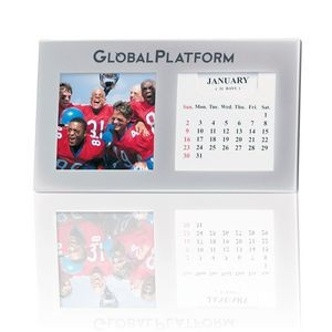 "Photo Frame Perpetual Calendar with Black Velvet Backing (2.5"" x 2.5"" Photo)"