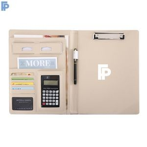 A4 Size Clipboard / Multi functional Business PU Portfolio