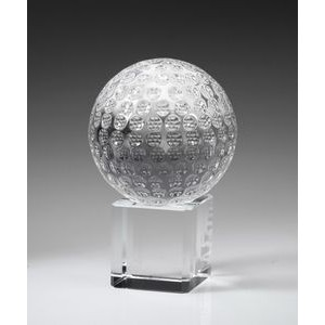 Golf Ball on Cube