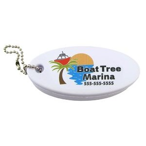 Floating Foam Key Tag - Full Color