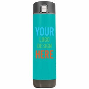 Personalized Hidrate 21 Oz Smart Water Bottle With Chug Lid - Powder Coated