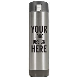 Personalized Hidrate 21 Oz Smart Water Bottle With Chug Lid - Stainless
