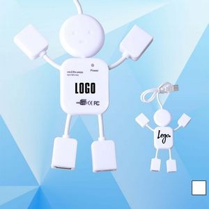 Human Shaped Mini USB Hub