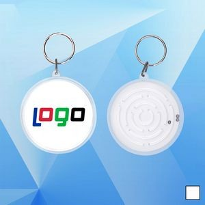 Small Maze Puzzles with A Key Ring