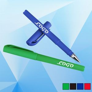 Cap-off Design Rollerball Pen