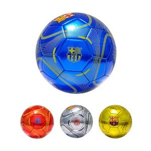Metallic Color Soccer Ball