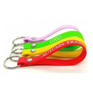 High Quality Silicone Wristband Keychain