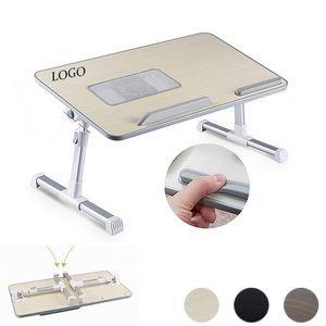 Foldable Laptop Desk, Bed Tray With Cooling Fan(Larger)