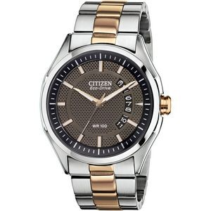 Citizen Men's Drive HTM Rose Gold Two-Tone Eco-Drive Watch