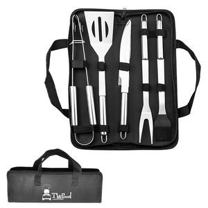 BBQ Stainless Steel Tool Set