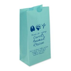 Blue Popcorn (SOS) Bag With One Color Printing