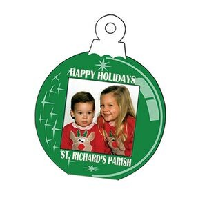 "Holiday Fun Large Ornament Photo Frame (5 1/4""x6 1/2"")"