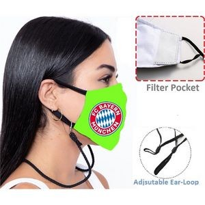 Comfy 3-Ply Face Mask with Lanyard