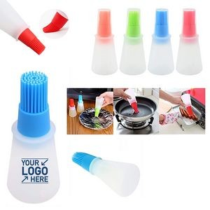 Silicone Oil Bottle Brush With Lid