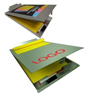 Durable Aluminum Clipboard with Storage.