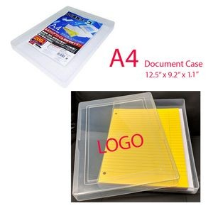 A4 Document See Through Case.