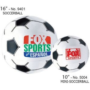 "10"" Inflatable Sport Beach Mini-Soccer Ball"
