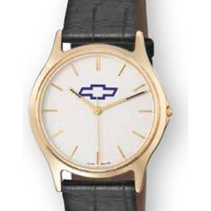 Selco Geneve Legacy Men's Watch w/ Leather Strap