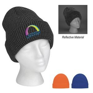 Go & Glow Reflective Beanie With Cuff