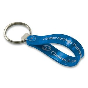 Short Loop Key Tag - Spot Color