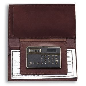 Checkbook Holder w/Calculator
