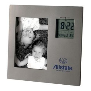 Howard Miller Picture This Titanium Finish Clock/ Picture Frame