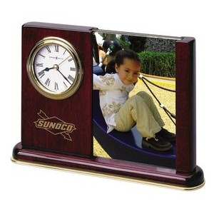 Howard Miller Rosewood Hall Portrait Caddy Clock