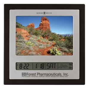 Howard Miller Persona photo frame clock