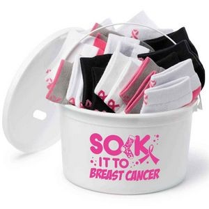 Sock It To Breast Cancer Fundraising Kit