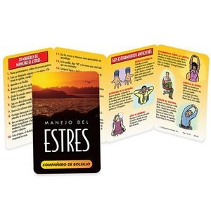 Stress Management Pocket Pal (Spanish) - Personalization Available