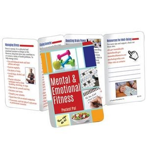 Mental & Emotional Fitness Pocket Pal - Personalization Available