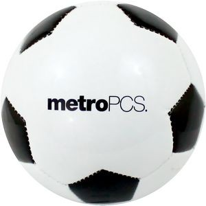 "Synthetic Mini 5"" Soccer Ball W/ Large Panel"