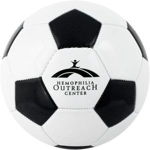 Soccer Ball Size 3 Synthetic W/ Dual Print Panel