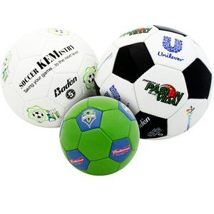Soccer Ball Size 5, Game-ready, full custom