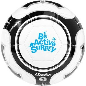 Game Ready Soccer Ball W/ Dual Print Panel
