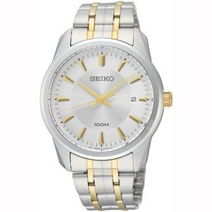 Seiko SGEG07 Men's Stainless Steel Watch - Two Tone