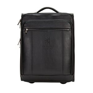 "20"" The Precision Leather Computer/Tablet Carry On Bag"
