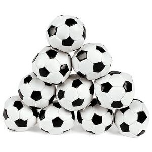 "Soccer Kick Ball with Pellet Fill (2"" Diameter)"