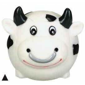 Rubber Soccer Ball Shaped Bull Dog Toy©