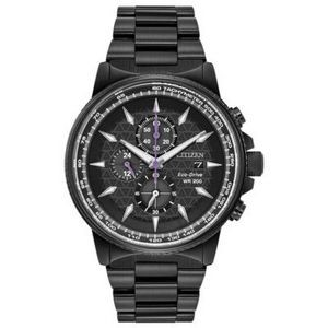 Marvel by Citizen Men's Black Panther T'Challa Eco-Drive Watch