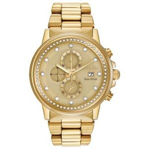Citizen Unisex NightHawk Eco-Drive Watch w/Champagne Dial